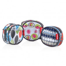 Nuby Paci Pouch Dummy Travel Case Pod Holds 3 Dummies