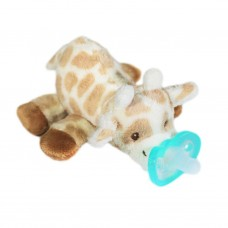 RaZ-Buddy Giraffe - PLUSH PACIFIER HOLDER + FREE Jollypop