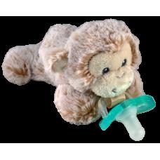 RaZ-Buddy Monkey - PLUSH PACIFIER HOLDER + FREE Jollypop