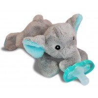 RaZ-Buddy Elephant - PLUSH PACIFIER HOLDER + FREE Jollypop