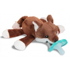 RaZ-Buddy Fox - PLUSH PACIFIER HOLDER + FREE Jollypop